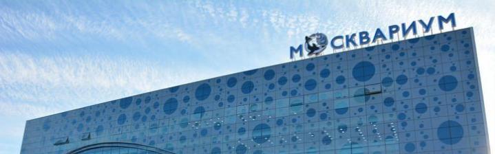 Новый океанариум «Москвариум» на «ВДНХ»